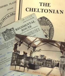 Memorabilia from Lindsay Anderson's schooldays