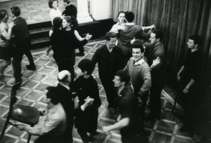 A scene from The Singing Lesson, a film made by Lindsay Anderson in Warsaw in 1967.