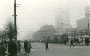Photograph of Warsaw taken by Lindsay Anderson in 1966.