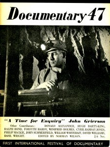 Cover of the Documentary 47 programme (ref. H3.P3)