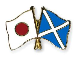 Scotland and Japan flags