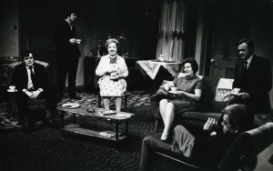 A scene from the 1969 Royal Court production of David Storey's In Celebration, directed by Lindsay Anderson.