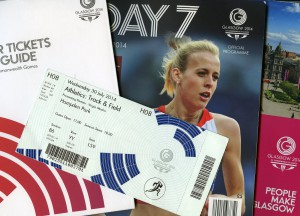 Memorabilia from Glasgow 2014 recently added to our Commonwealth Games Scotland Archive