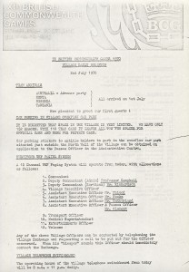 British Commonwealth Games 1970 Newsletter