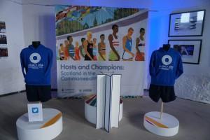 Hosts and Champions Podium